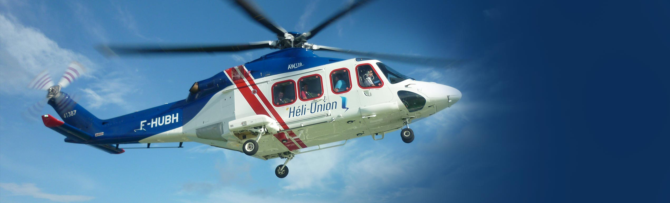 Heli-Union : offshore helicopter transport