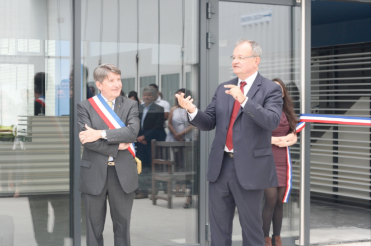 Inauguration of Héli-Union Headquarter in Toussus-le-Noble