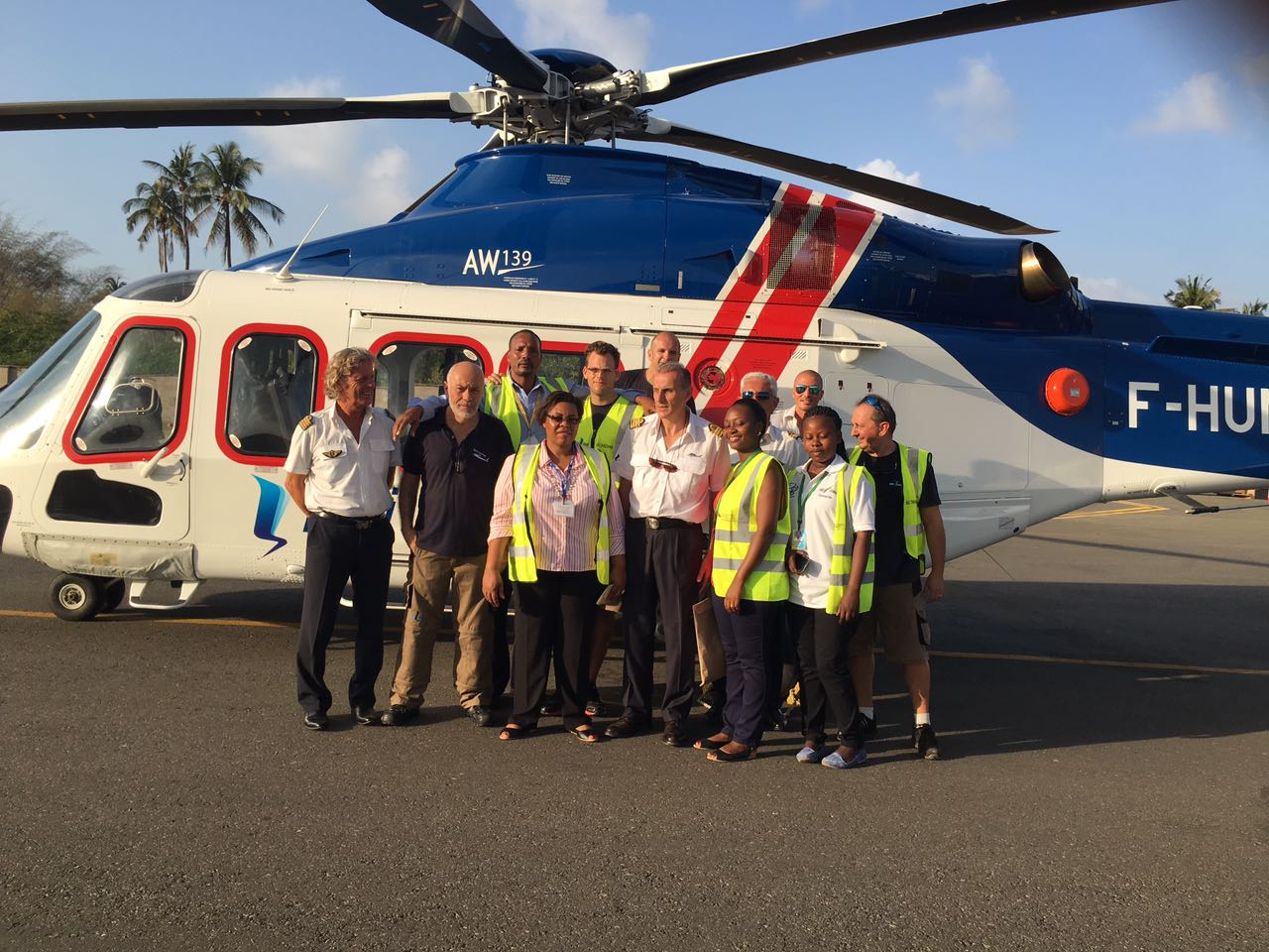 Héli-Union Received Recognition Medals for its Helicopter Transport Services in Tanzania