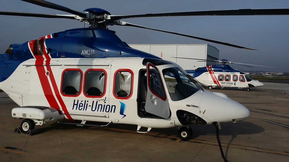 HELI UNION INCREASES ITS AW139 FLEET THROUGH LEASING