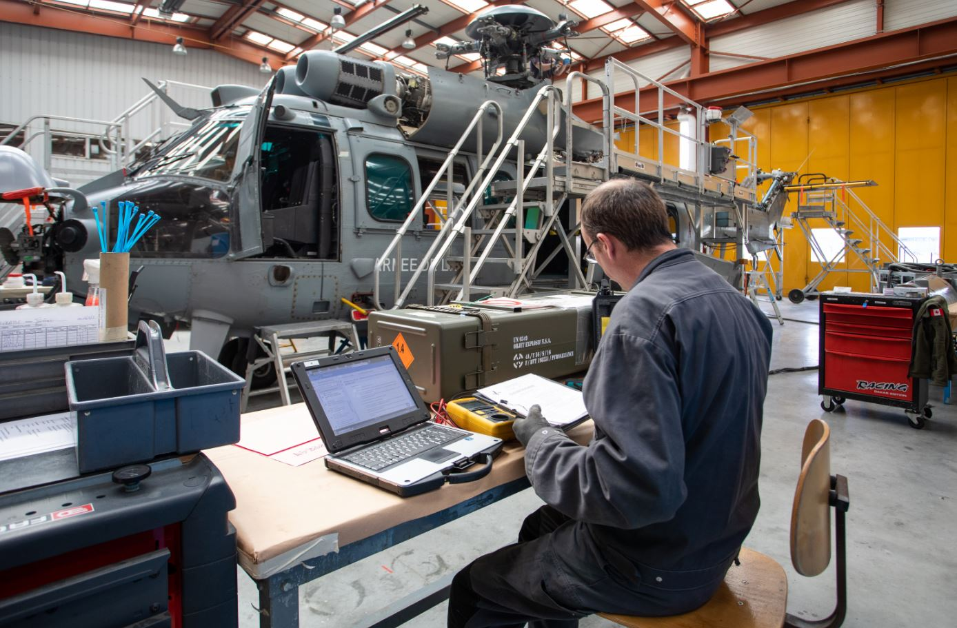 HELI-UNION PERFORMS THE FIRST EVER H725 CARACAL (H225M) MAJOR OVERHAUL