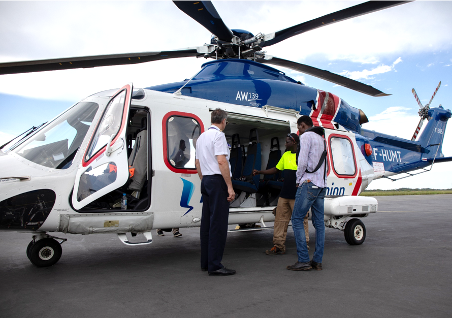 HELI-UNION KICKSTARTS NEW CONTRACTS IN GABON