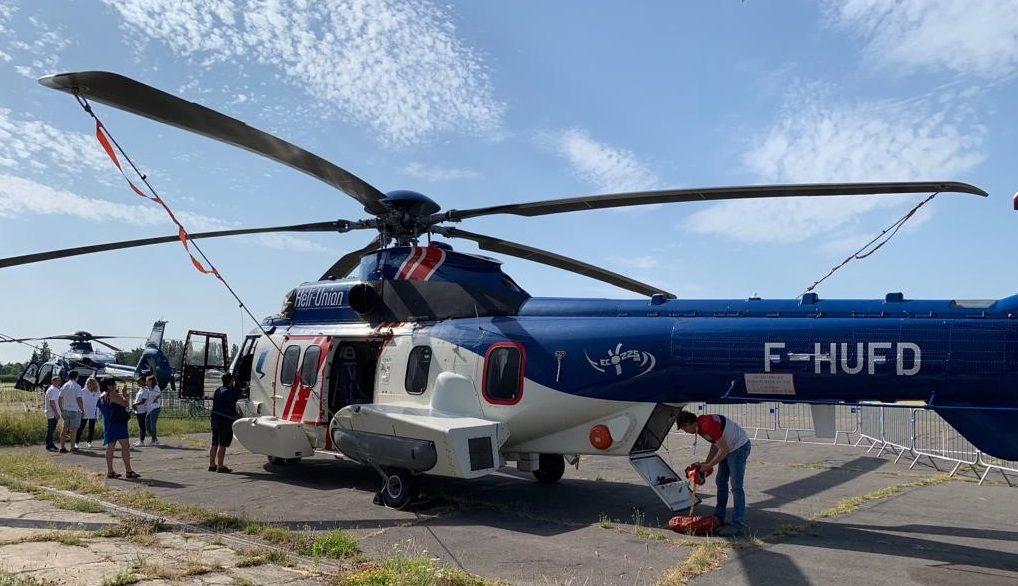HELI-UNION OPENED ITS DOORS TO THE PUBLIC