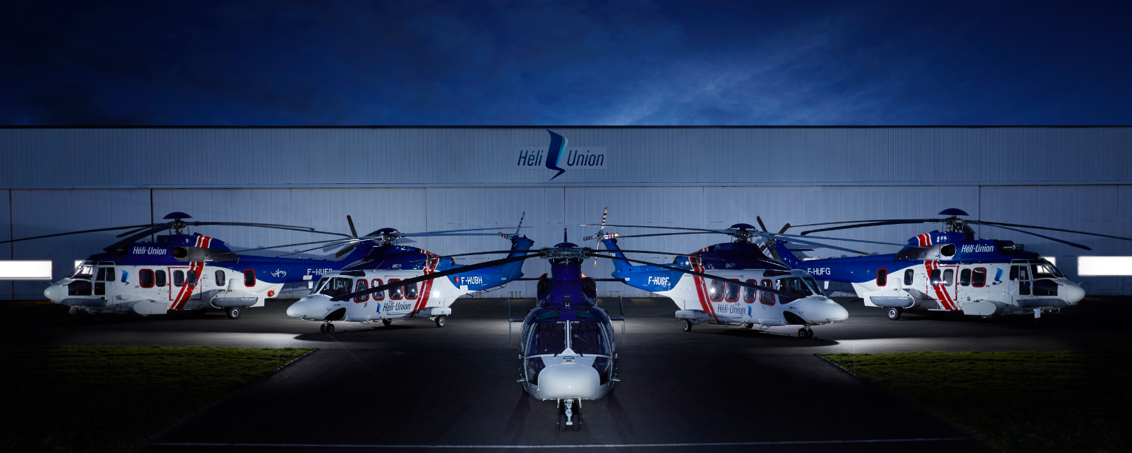 HELI-UNION EXTENDS ITS LEONARDO AND AIRBUS FLEET