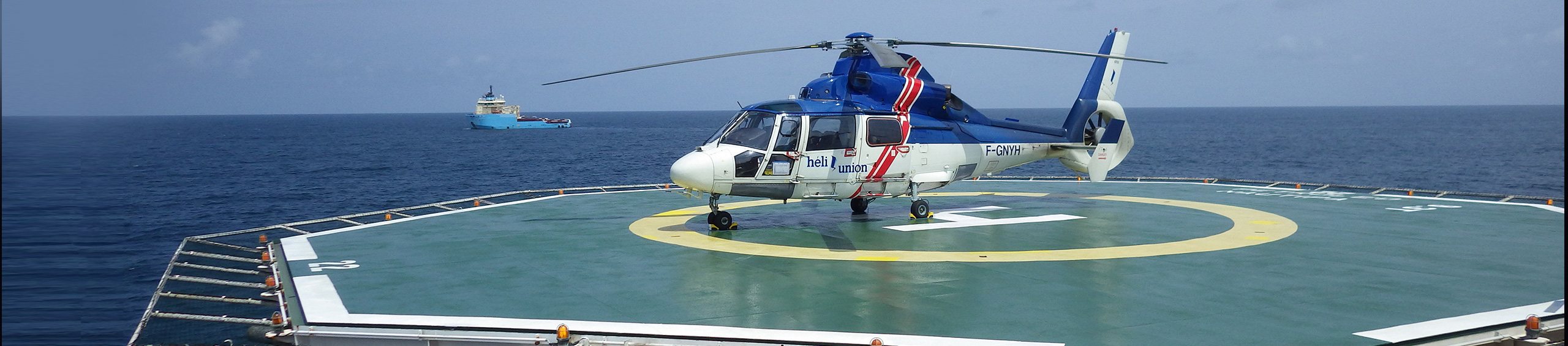 helicopter oil and gas