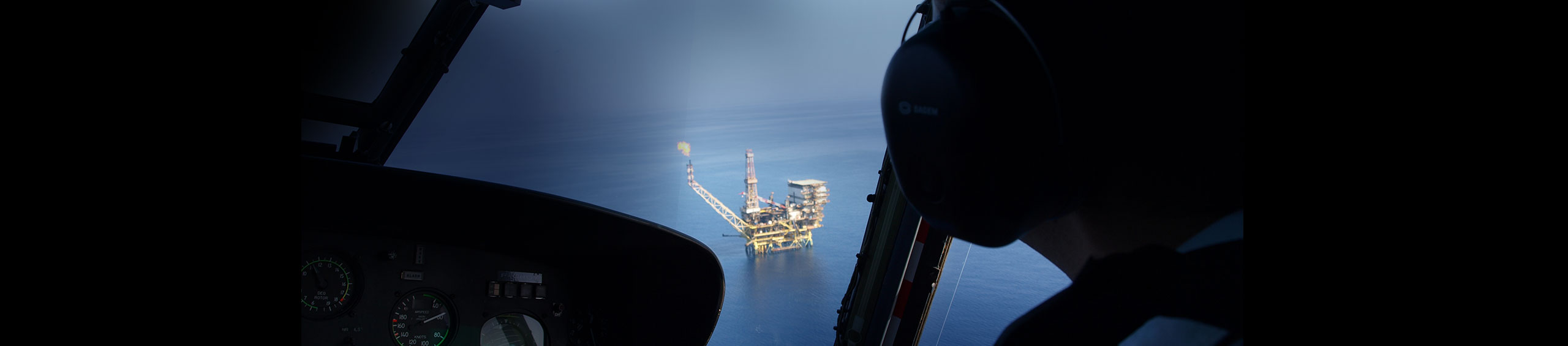 oil and gas helicopter