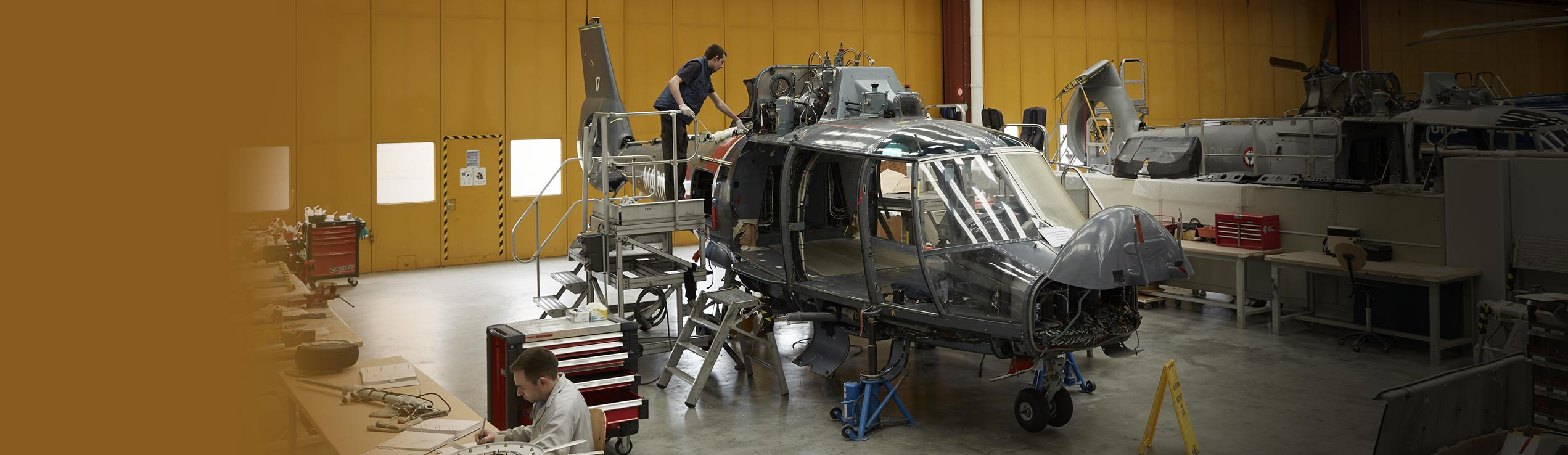 helicopter modification
