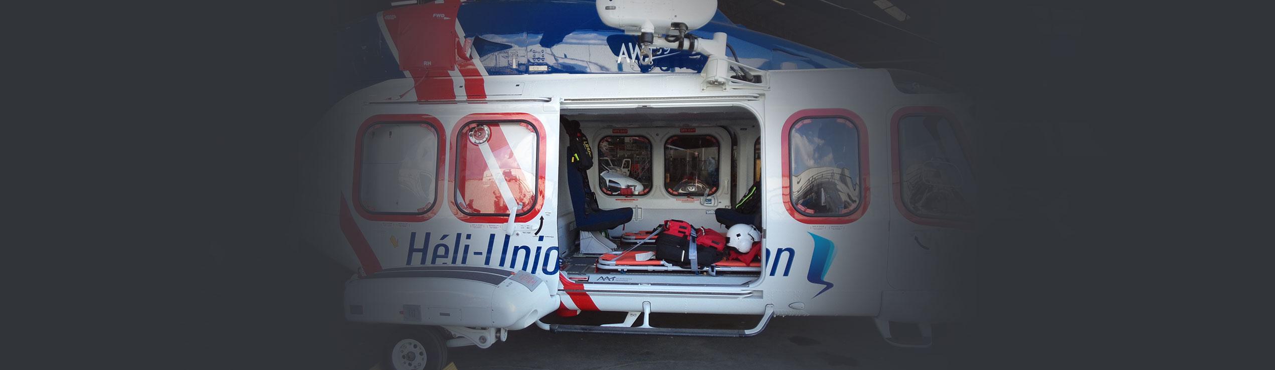 helicopter medevac